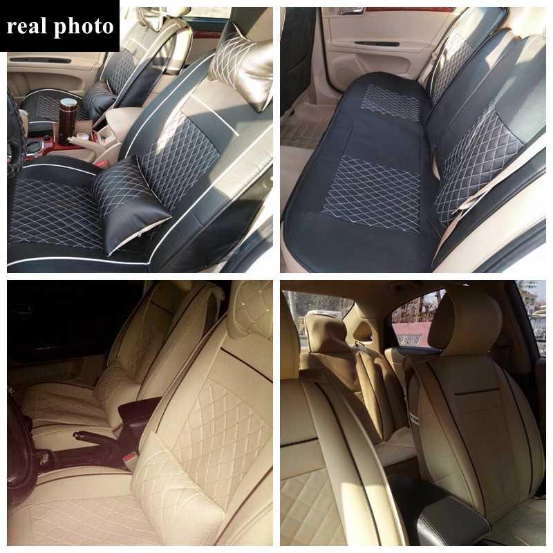 Housses de siège de voiture universelles en cuir pour la plupart des voitures pour Volvo XC60 XC90 S60L S90 V40 V60 S60 V70 S40 S60 C70 accessoires de voiture