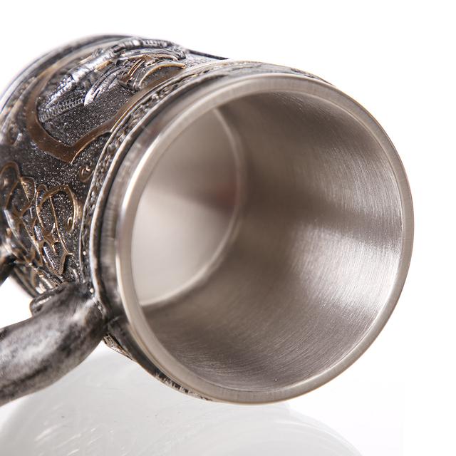 Stainless Steel Beer Mug