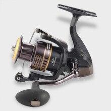 2019 NEW 1000-6000 Fishing reel 13+1BB Gapless Metal Spinning Reel CNC Fishing Wheel pesca casting reel Left/Right Hand Spool