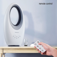 Convection Bladeless Fan Electric Fan Household Remote Control Mute Shaking His Head Night Light