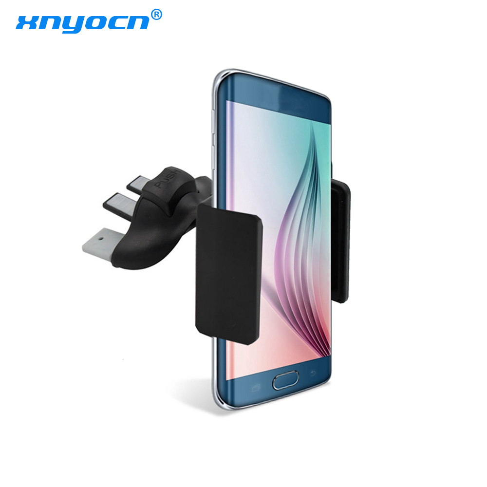 Universal Car CD Slot Phone Mount Holder Car Air Vent Stand Cradle For Car Phone Support