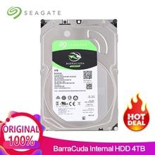 Seagate 4 ТБ Desktop HDD внутренний жесткий диск 5900 об./мин. SATA 6 ГБ/сек. 64 МБ Кэш 3,5 inch HDD диск для компьютера ST4000DM004