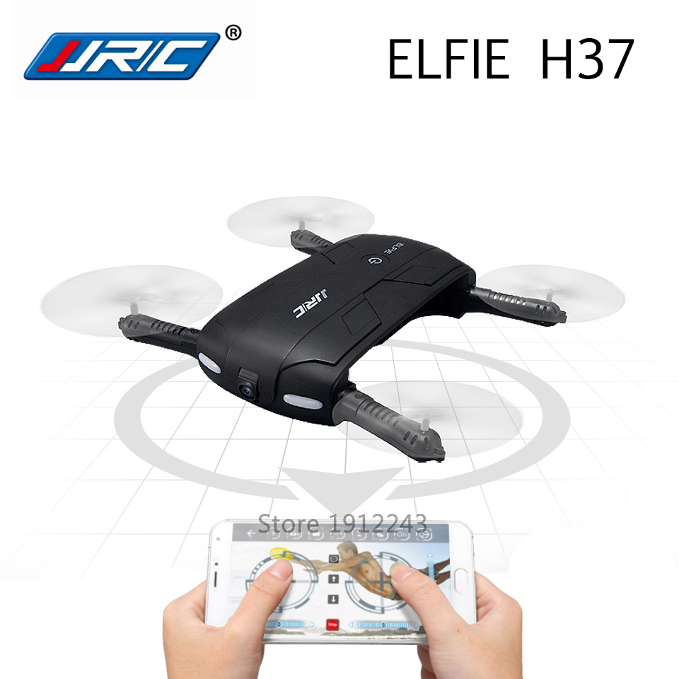 ФОТО JJRC H37 Elfie RC Drone with Camera FPV Drones WIFI Remote Control Quadcopter support Real-Time Video and Phone Control
