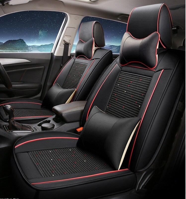 Top qualité et Livraison gratuite! Ensemble complet de voiture sièges couvre pour Nouvelle Mazda CX-5 2018 confortable respirable couvre pour CX5 2017