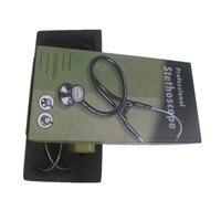 CE профессиональный двойной кардиологический эстетоскопио из нержавеющей стали милый медицинский стетоскоп relanx