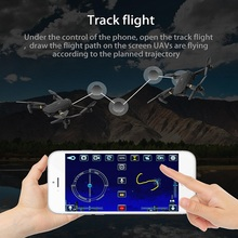 Newest High-tech 2.4G Wifi FPV solo smart Drone With HD camera fold Aerial camera Remote Control Helicopter