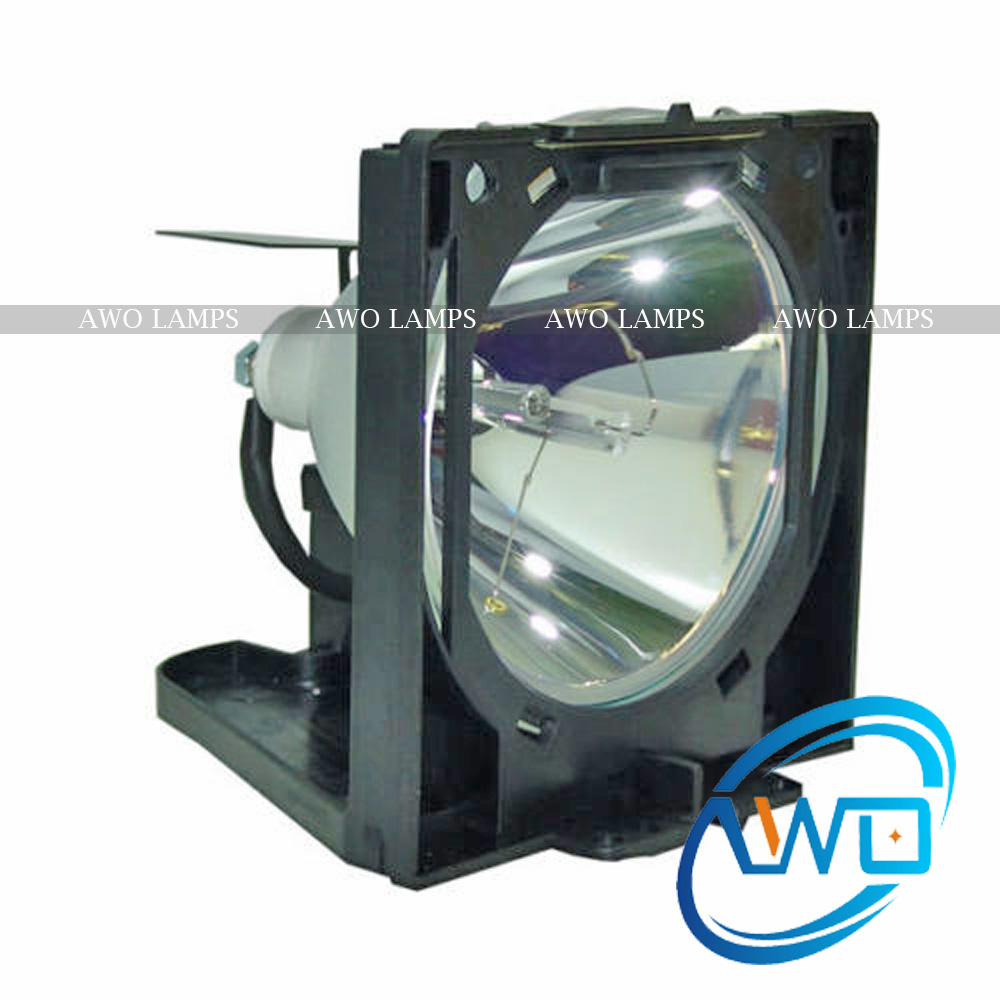 AWO Compatible Projector Lamp LV-LP06 with Module for CANON Projectors LV-7525 LV-7535 Wholesales compatible projector lamp for canon lv lp19 9269a001aa lv 5210 lv 5220 lv 5220e
