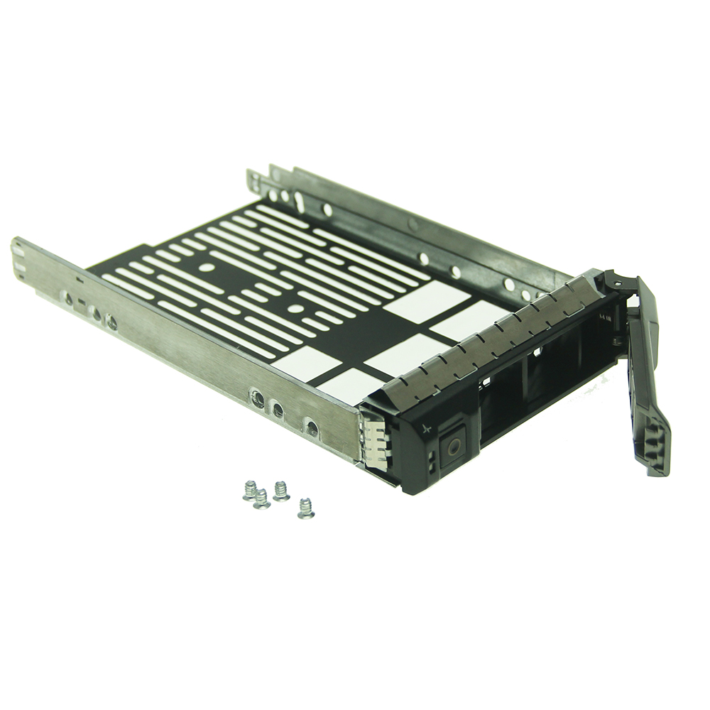 9pcs 3 5 SAS SATA Hard Drive Tray Caddy F238F for Dell PowerEdge R710 R610 R510