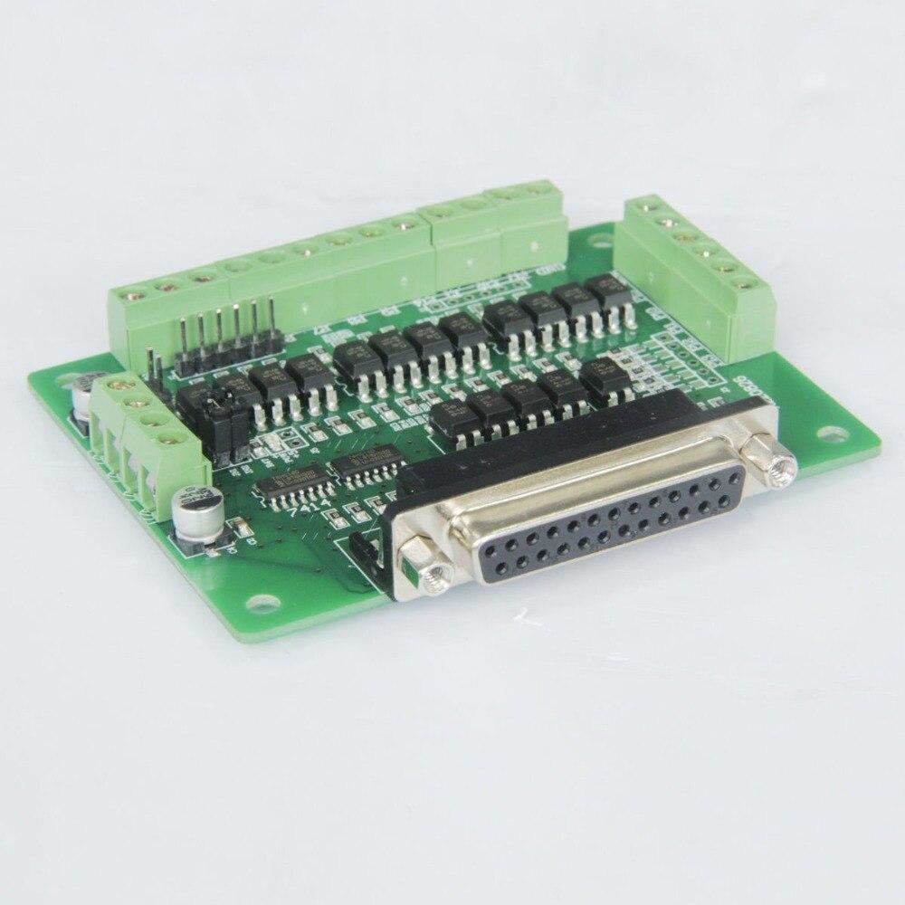 12 36vdc 128 128micostep bipolar controlador board db25 cnc novo 02