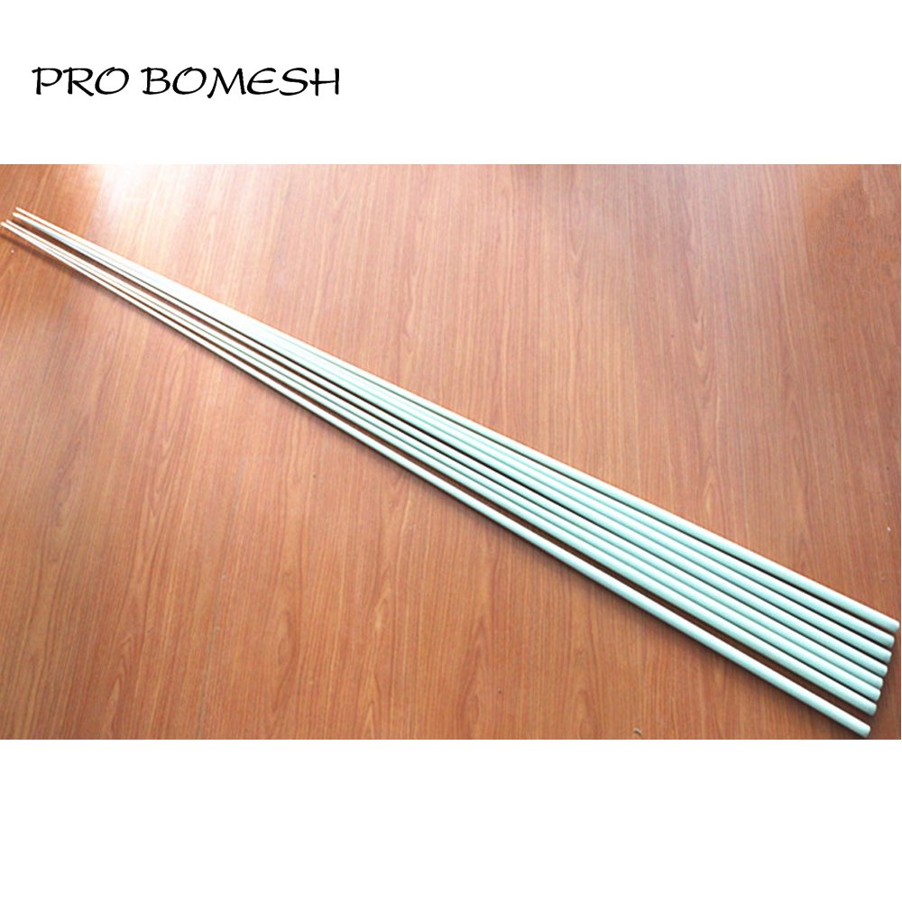 Pro Bomesh 2PCS/Lot 1.89M 26.4LB 52.8LB 1 Section Solid Fiber Glass Boat Rod Blank Handmade Boat Rod Blank DIY Rod  Repair-in Fishing Rods from Sports & Entertainment    3