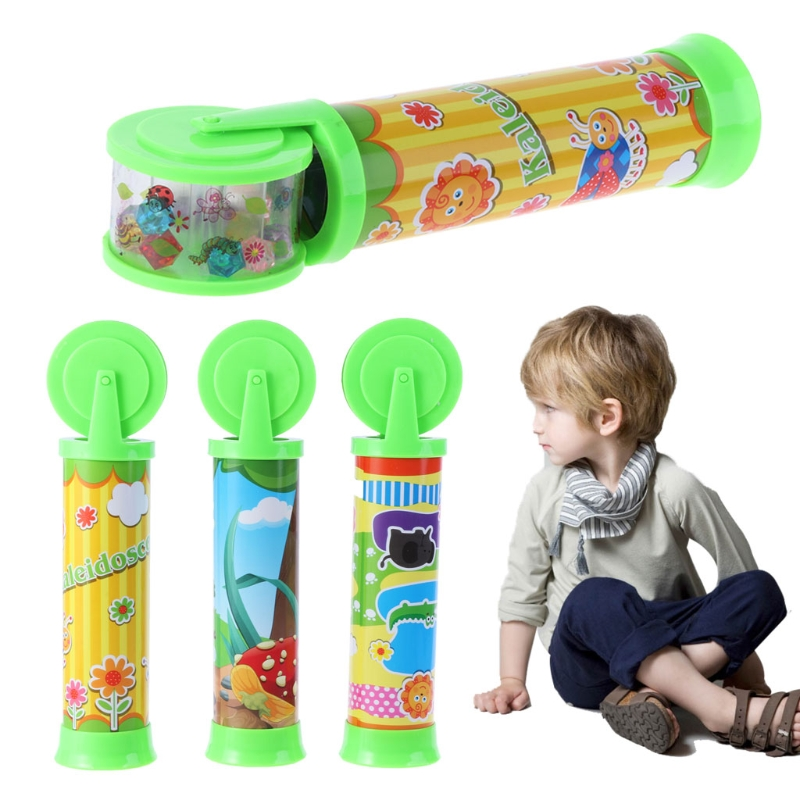 20cm Magic Kaleidoscope Kids Educational Science Developmental Toy