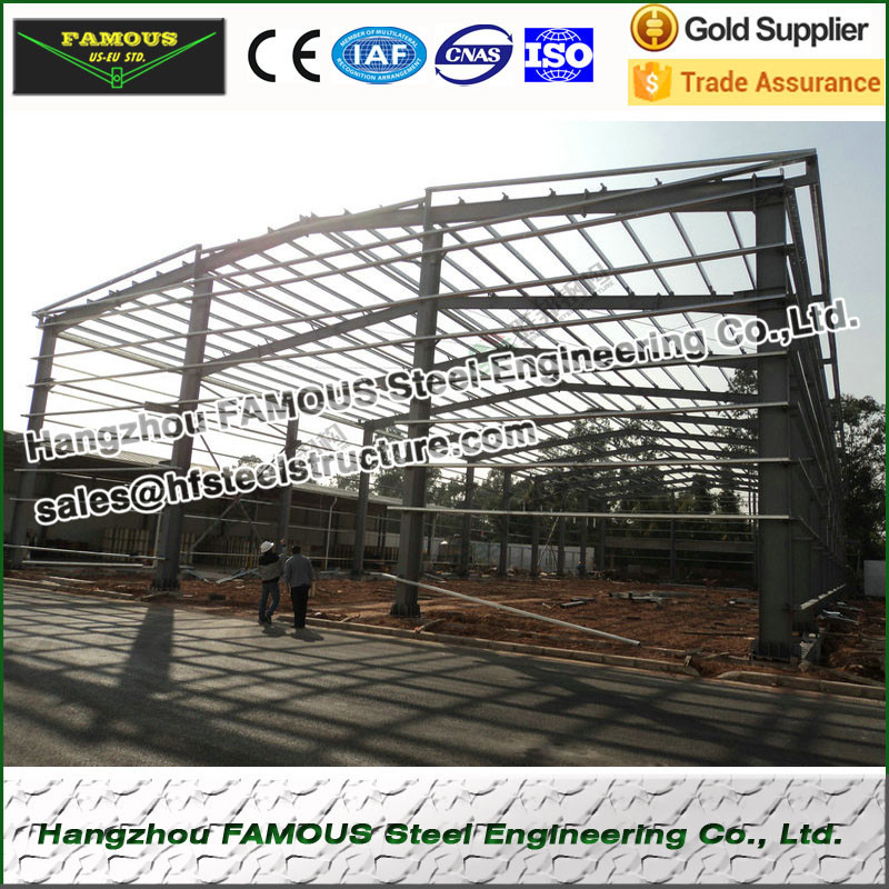 Anti-seismic High Strength Structural Steel Building For Industry, Agriculture, Commerce