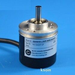 ELCO przyrostowy obrotowy enkoder fotoelektryczny EB38A6-L5SR-5000.9ks001 5VDC