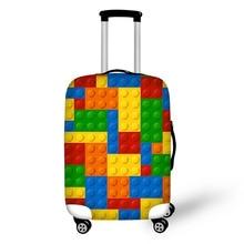 18-30 インチ弾性荷物ダストカバーケース伸縮性バッグ 格好良いパターントラベルアクセサリースーツケース保護カバー