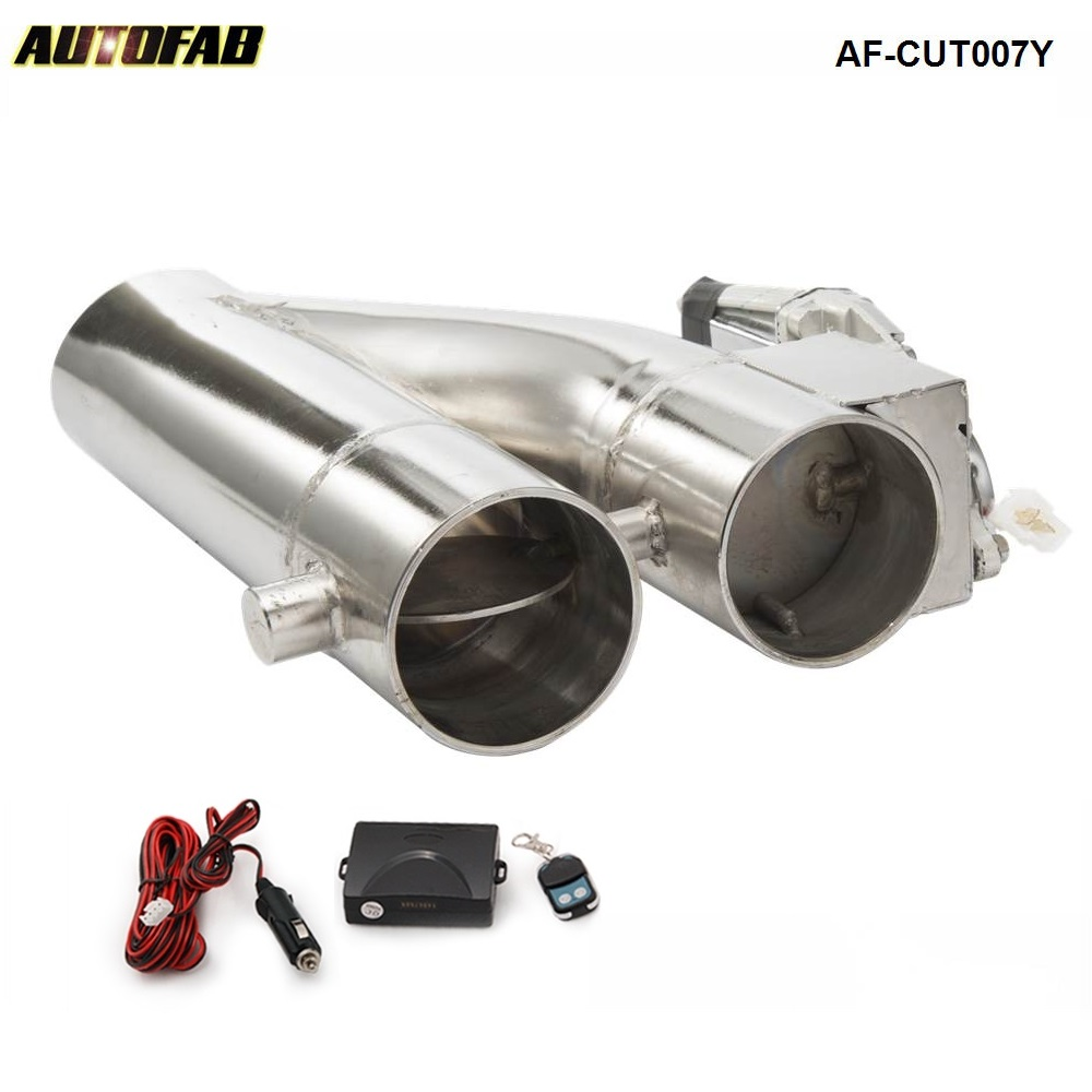 Patented Product 2 25 2 5 3 Electric Exhaust Downpipe Cutout E Cut Out Dual Valve