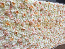 2.4M x 2.4M Wedding flower backdrop flower wall Event Decoration