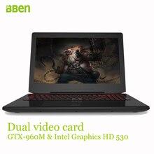 Bben laptop FHD 1920X1080 8GB DDR4+128 SSD+1TB HDD Windows10 Quad Core Fast Running  6700HQ I7 Laptop Notebook Computer 15.6″