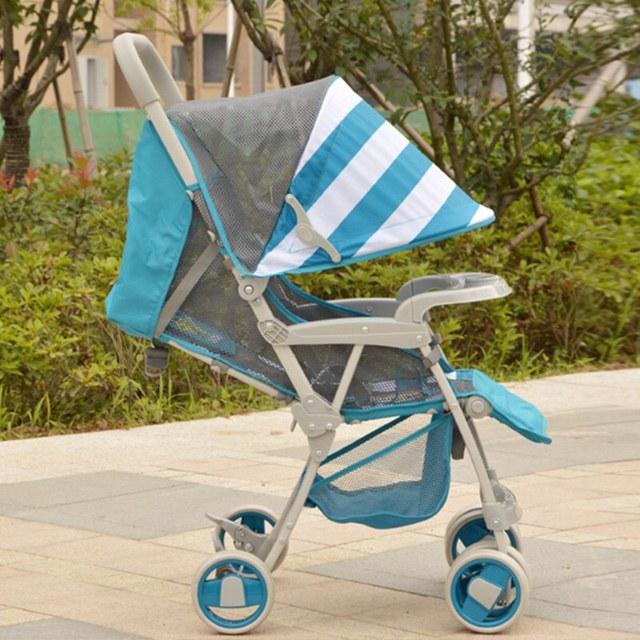 0-36 Meses Recién Nacido Acostado y Sentado Carrito Paraguas Ligero Cochecito de bebé Plegable Cochecito de Bebé Cochecito de Niño y Sillas de Paseo Del Carro