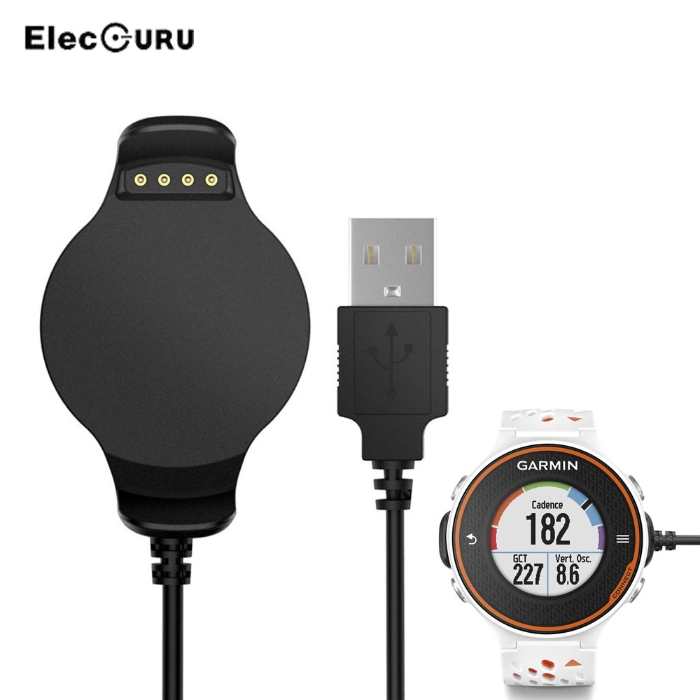 Usb Fast Charger For Garmin Forerunner 620 Smartwatch Portable Orange White Replacement Quick Charging Dock Cradle Cable