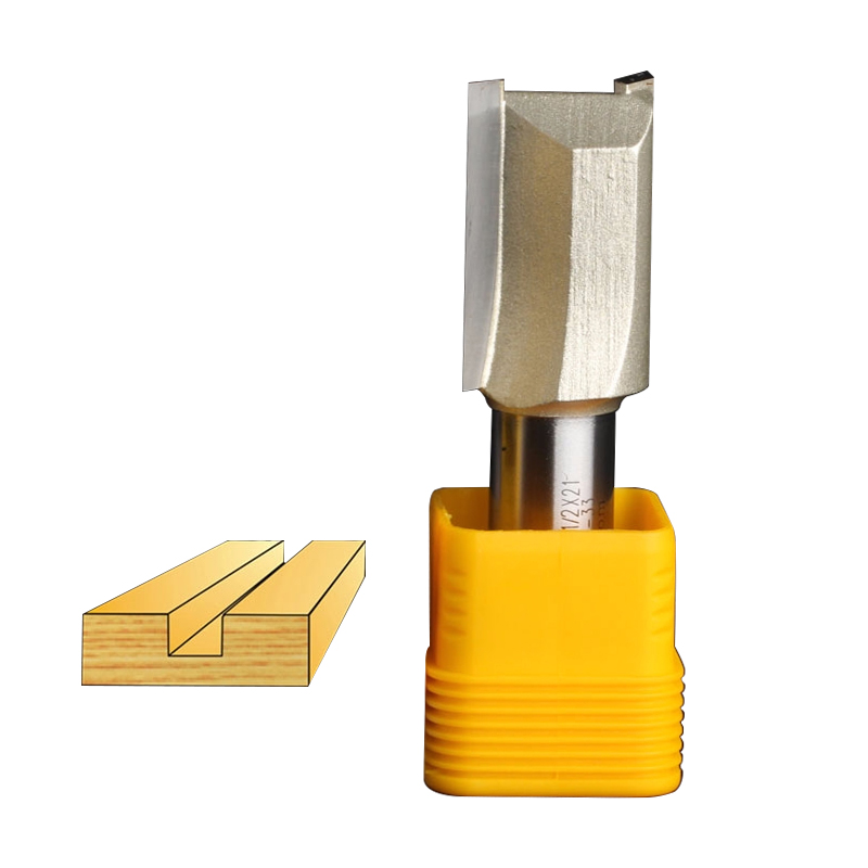 Embouts routeur Arden Router Bit Metric Flöte Gerade Bits Holzbearbeitung Werkzeug-1/2*21mm-1/2