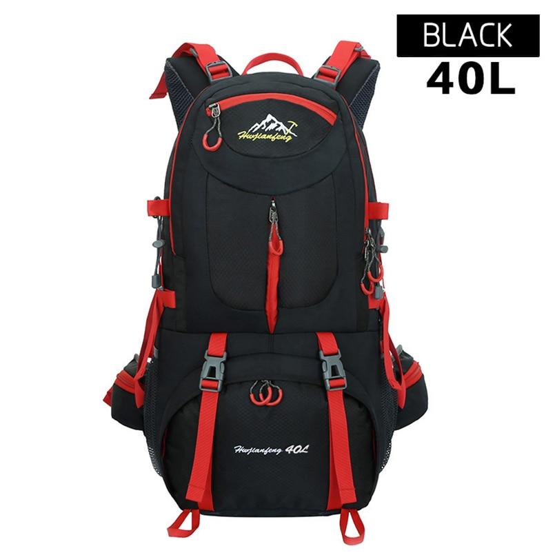 HU WAI JIAN FENG Mountaineering Bag Outdoor Hiking Camping Backpack 40L Men Women Large Capacity Backpacks Waterproof gykz new large capacity 40l outdoor tourist backpack women