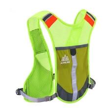 AONIJIE Sport Running Bag Adjustable Reflective Mesh Vest Backpack for Women/Men Marathon Hiking Camping