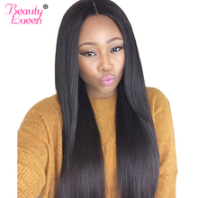 Brazilian Straight Hair Weave Bundles Can Buy Human Hair 3 4 Bundles With Closure Beauty Lueen Non-Remy Hair Extensions(China)