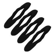 4 Шт. Поролоновой Губки Булочка Волос Twist Клип Прическа Чайник Бывший