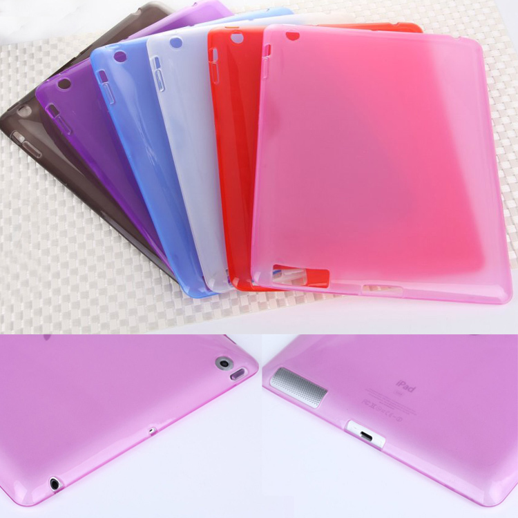 Soft Clear Transparent TPU Silicone Protective Skin Case Cover for apple ipad 2 case for ipad 4 for ipad 2 3 4 Tablet m2c42d case for ipad air 2 pocaton for tablet apple ipad air 2 case slim crystal clear tpu silicone protective back cover soft shell