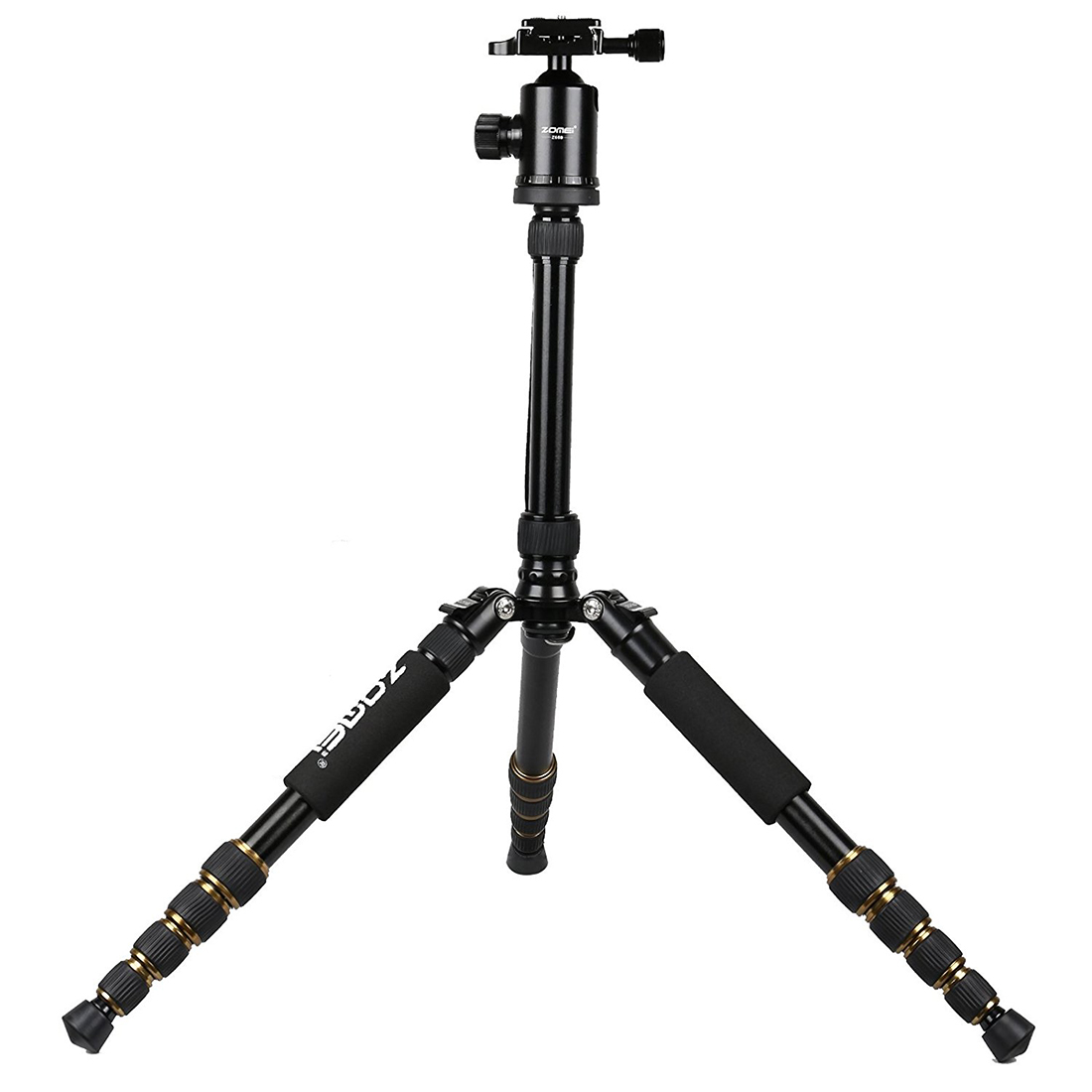 MAHA Hot ZOMEI Z699 Magnesium Aluminum Alloy SLR Three Tripod with Ball Head Pocket Travel for DSLR zomei professional aluminum alloy slr three camera folding portable tripod with ball head bag travel for dslr black q111