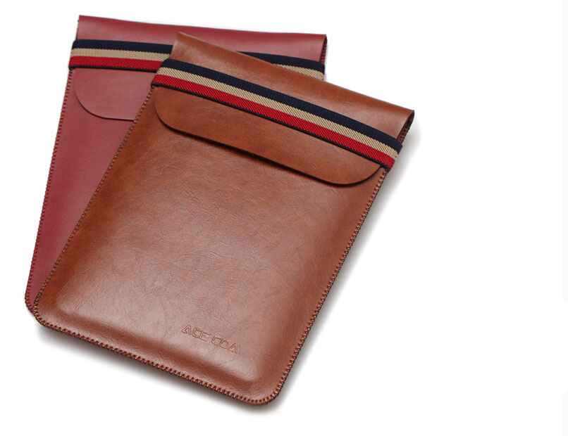 W441 Genuine microfiber leather tablet sleeves e-book covers cases for kindle paperwhite 2 3 voyage brown wine red solid sleeve pouch bag for amazon kindle paperwhite kindle voyage new kindle 6 inch cases shockproof e book sleeve cases