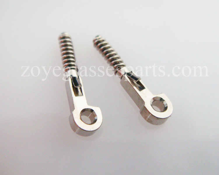 ZOYE spring inserts for repairing broken eyeglass box hinges, broken spring replacement part stainless steel TX-034