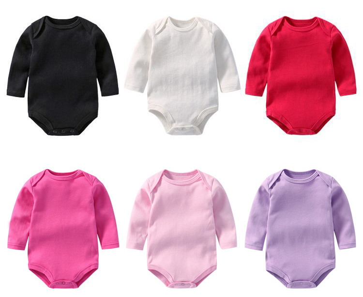 HTB1vBtjacrrK1RjSspaq6AREXXa6 Baby rompers Winter Spring Newborn Baby Clothes unisex Long Sleeve Kids Boys Jumpsuit Baby Girls Outfits Clothes Dropshipping