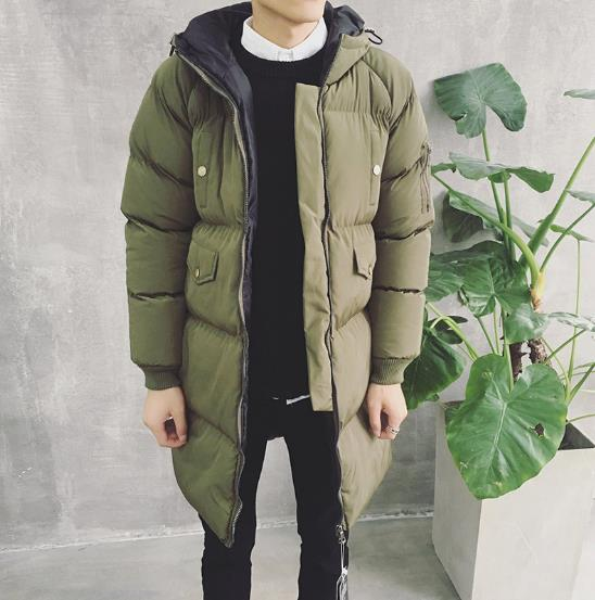 0fa3583d8abf3 2017 Hot Winter Men s Jackets Long Parka Men Coat Men s Overcoats Thick  Fashion Warm Male Jackets Hooded Casual Jacket 3XL-in Parkas from Men s  Clothing on ...