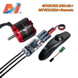 Maytech electric-longboard 6355 230KV dc motor and open source esc SuperESC based on VESC and remote