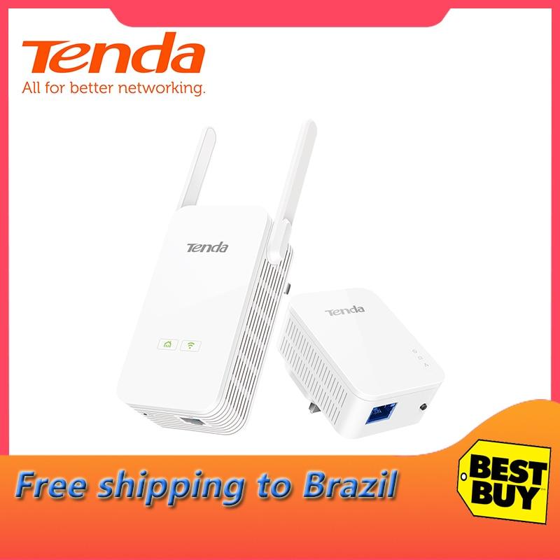 Tenda PH5 1000Mbps KIT Gigabit adaptateur de ligne d'alimentation AV1000 Ethernet adaptateur PLC adaptateur réseau Powerline IPTV homeplug AV2