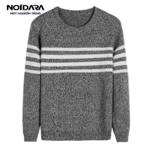 No.1 dara Autumn Fashion Casual Tops Hot Brand Sweater Men O-Neck Striped Slim Fit Knitting Mens Sweaters pull homme men clothes dara o briain edinburgh