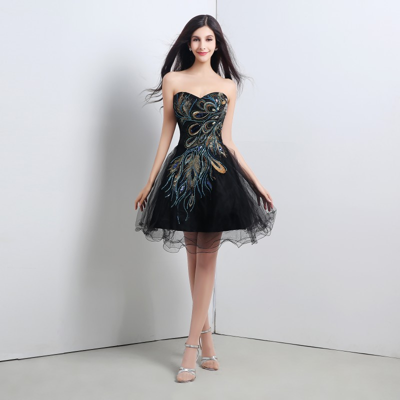 Online Get Cheap Black Semi Formal Dresses -Aliexpress.com ...