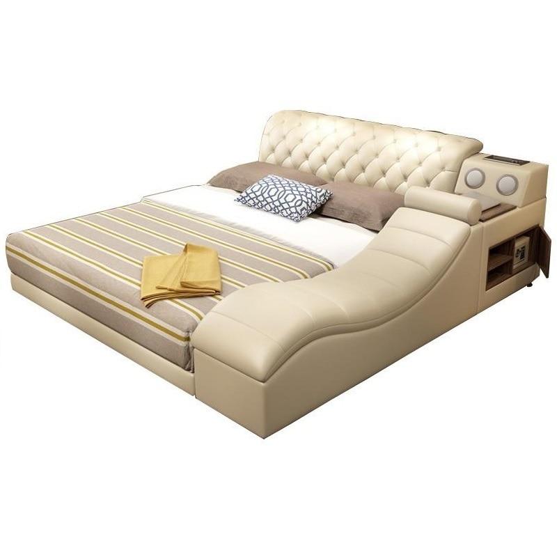 Tingkat Lit Enfant Single Modern Frame Box Mobili Matrimonio Mobilya Leather De Dormitorio Cama bedroom Furniture Mueble Bed