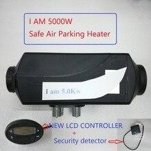Free Shipping 5kw 12V Air Diesel Heater Auto Liquid Safe Parking Heater Not Origin Webasto Fan Heater New Lcd Controller