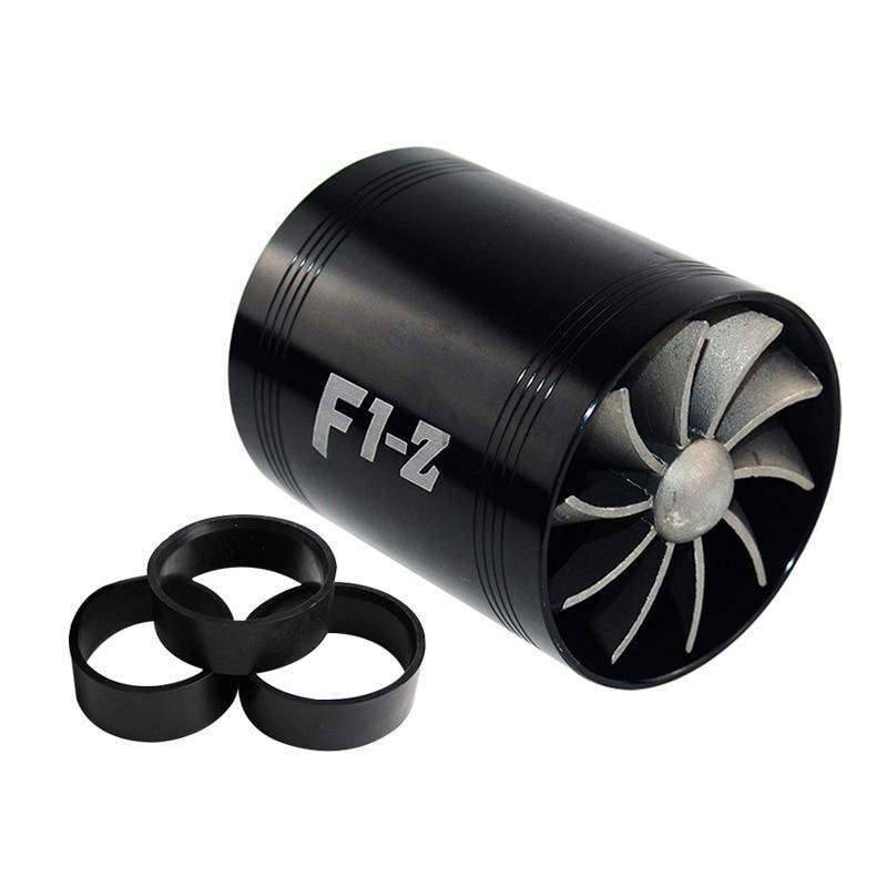 VR RACING-F1-Z двойная турбина турбонагнетатель воздуха впускной газ топлива заставка вентилятор автомобиля супер зарядное устройство VR-FSD11 - Цвет: BlackFanBlackRubber