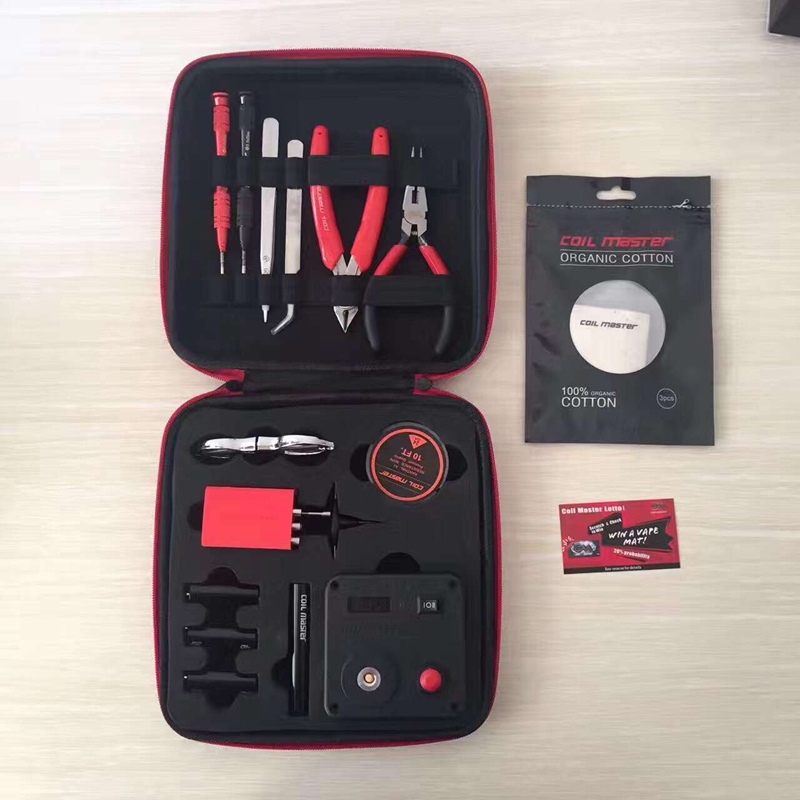 clone Coil Master v3 DIY KIT Tool V3 All-in-One kit Electronic cigarettes Accessories Japanese Cotton