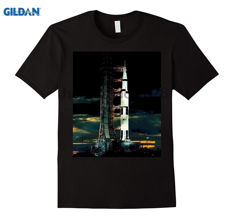 Возьмите Сатурн 5 ракеты аполлон-17 Moon Shot пространство футболка