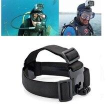 For Go professional Hero 5 four Sport Cameras Adjustable Head Strap Mount Gopro Motion Digicam Equipment for Xiaomi Yi SJCAM SJ4000/SJ5000