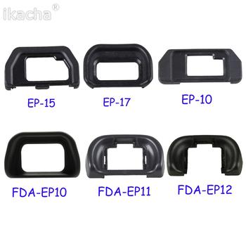 Osłona na kamerę muszla oczna FDA-EP10 FDA-EP11 FDA-EP12 EP-10 EP-15 EP-17 oko puchar okularu dla Sony dla produktu firmy Olympus lustrzanka aparat fotograficzny tanie i dobre opinie ikacha Camera Protector Eyecup FDA-EP10 FDA-EP11 FDA-EP12 EP-10 EP-15 EP-17 Eye Cup Eyepiece for Sony for Olympus SLR Camera