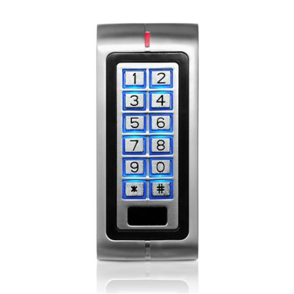 Metal Water-proof Access Control Card Reader  With BacklitMetal Water-proof Access Control Card Reader  With Backlit