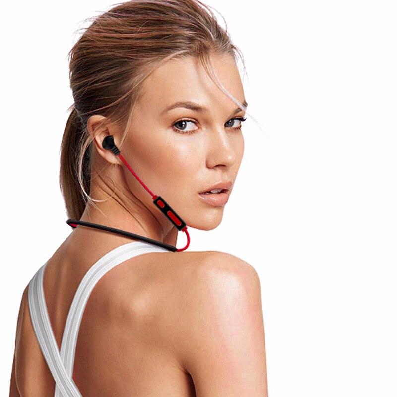 HATOSTEPED Metal Sweatproof Bluetooth Headphones