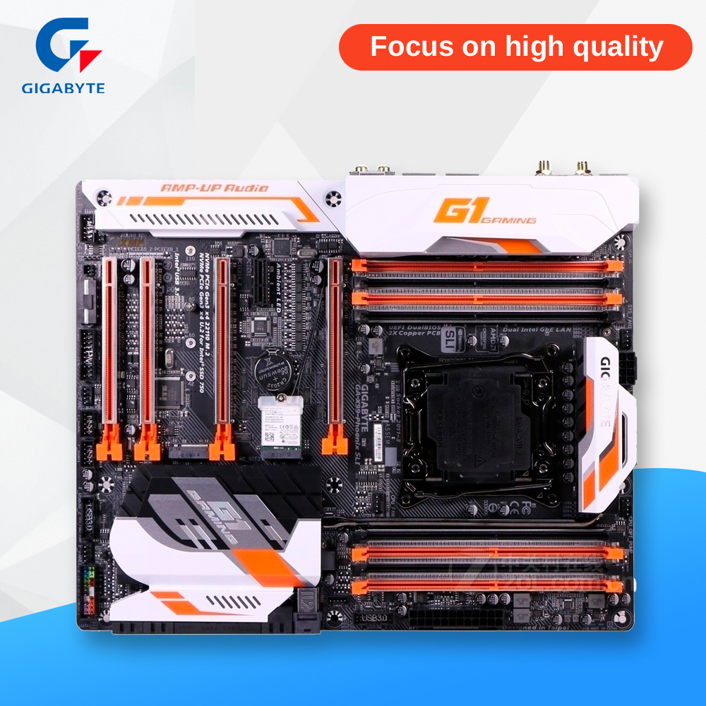 все цены на Gigabyte GA-X99-PHOENIX SLI Desktop Motherboard X99-PHOENIX SLI X99 LGA 2011-V3 DDR4 128G SATA 3 USB3.1 ATX
