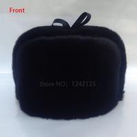 New Special Offer Parent Child Winter Women Unisex Warm Mink Fur Hat Men Mink Fur Genuine