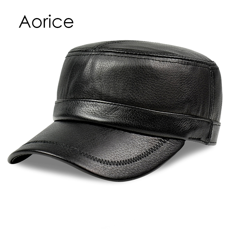 baseball hat shipping box genuine deer font leather rider style cowhide fashion army cap acrylic display case for sale